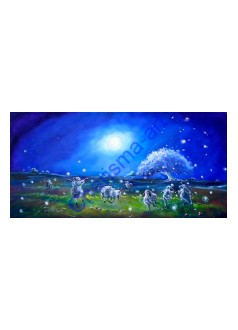 Firefly Ballet PRINTS ON CANVAS