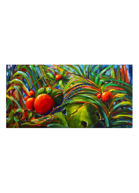 TROPICANA Florida Tropical Acrylic Painting