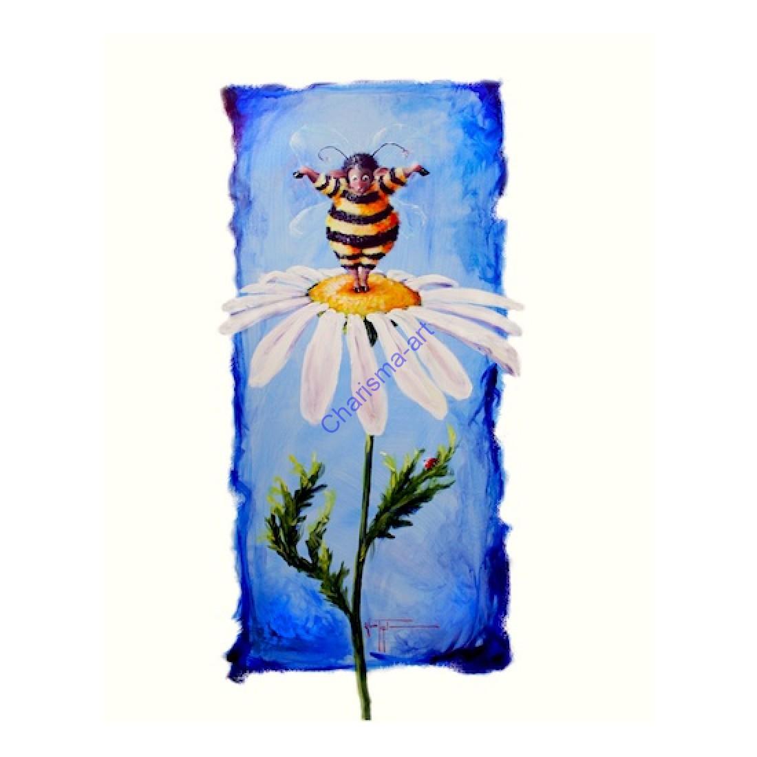 Bee Ewe Print