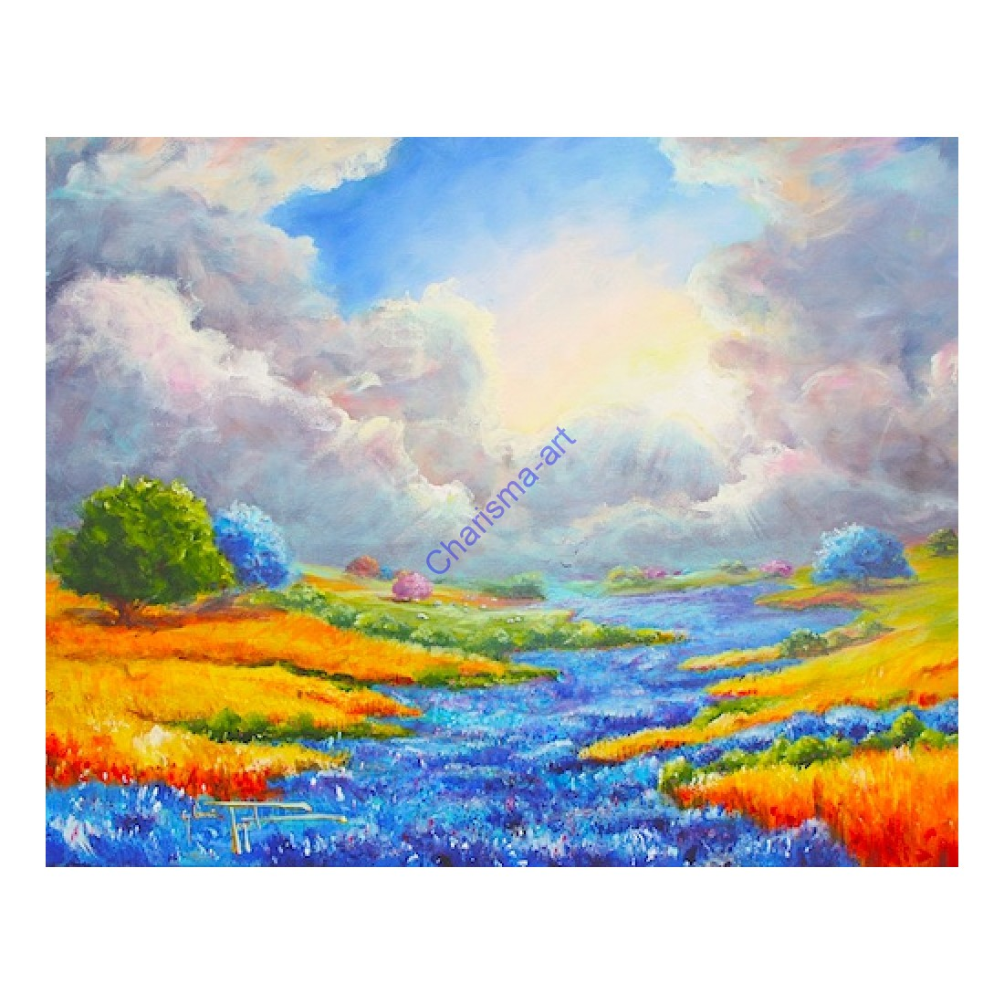 Peaceful Valley Print