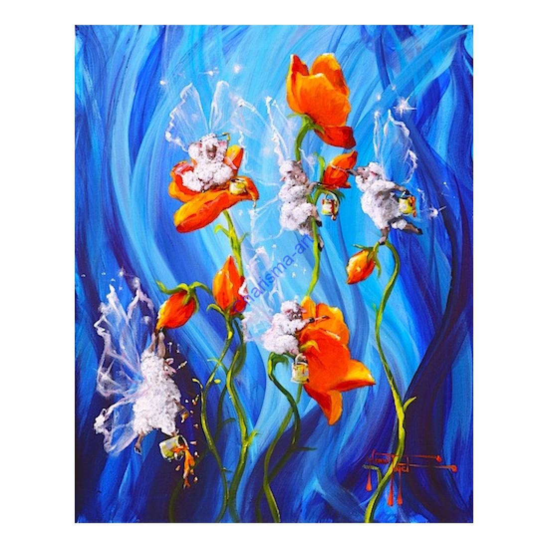 Flower Fairies Print