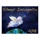 2018 Sheep Incognito Limited Edition Wall Calendar