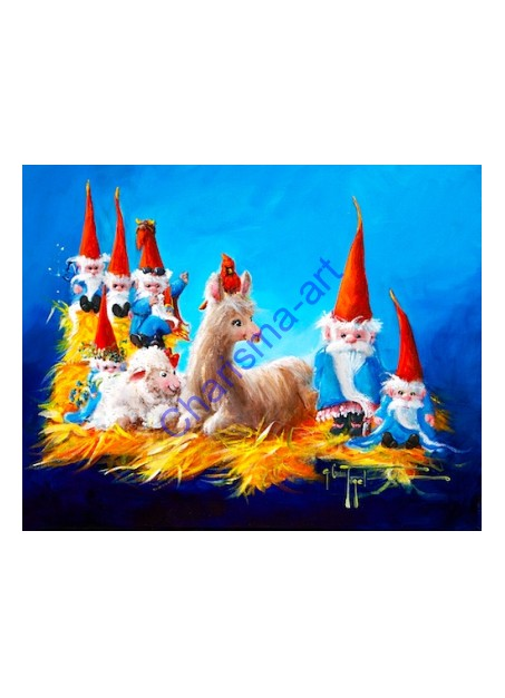There's Gnome Place Like Home PRINT