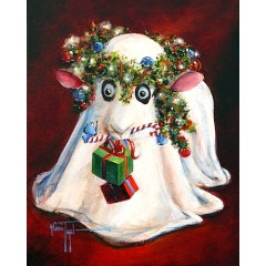 Christmas Sheep Art