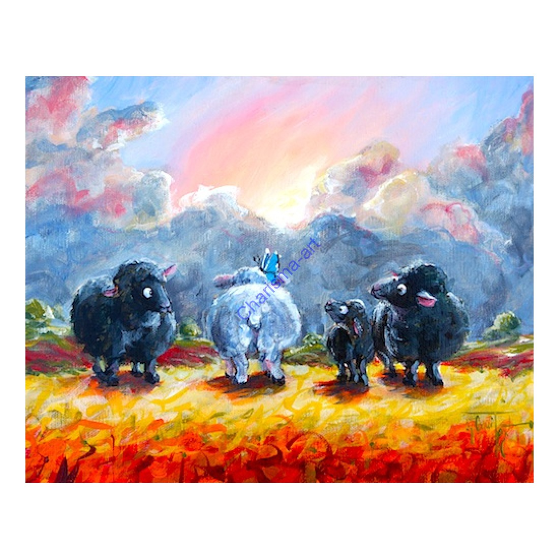 Black Sheep Of The Family Print