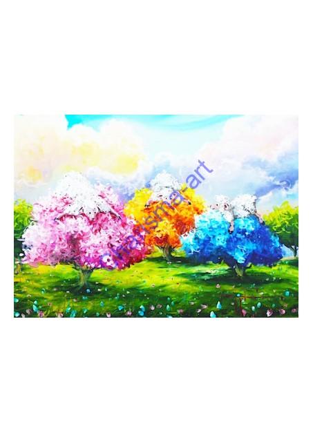 Tree Huggers Print