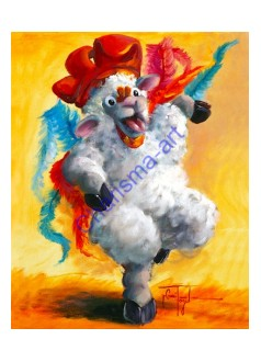Chicken Dance PRINT