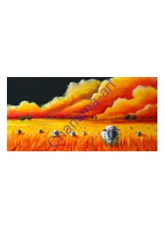 Mass Hysteria GICLEE CANVAS PRINT