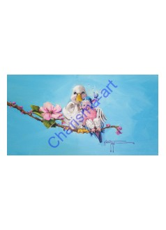 Lovebirds Prints and Reproductions