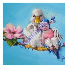 Lovebirds Original Oil Painting