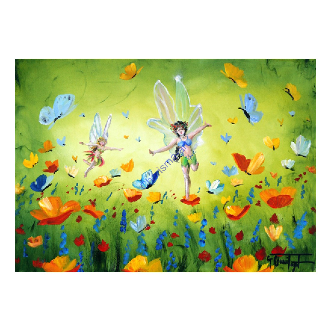 Image result for fairies in a meadow