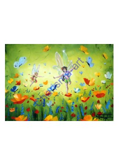 Fairies In the Meadow PRINT