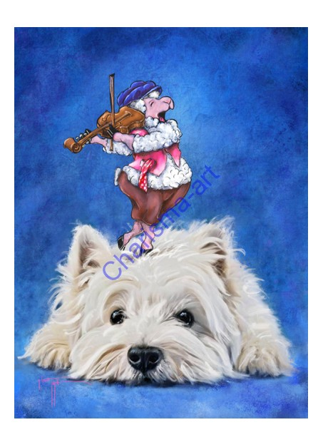 Fiddler On The Woof PRINTS