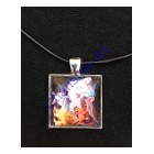 Live Life Loud Pendant Necklace