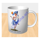 Dances With Wools Sheep Incognito MUG