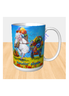 Haulin' Stash Sheep Incognito MUG