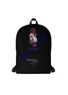 Sheep Incognito Backpack Bag Custom Design