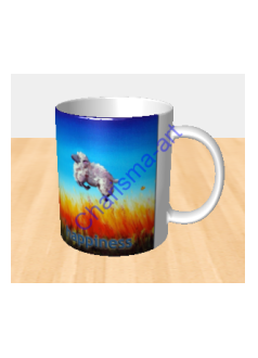 Happiness Sheep Incognito MUG